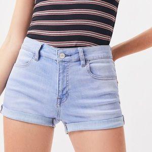 High rise super stretch shortie pacsun shorts